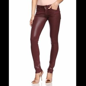 Citizens of Humanity Racer Coated skinny Jeans